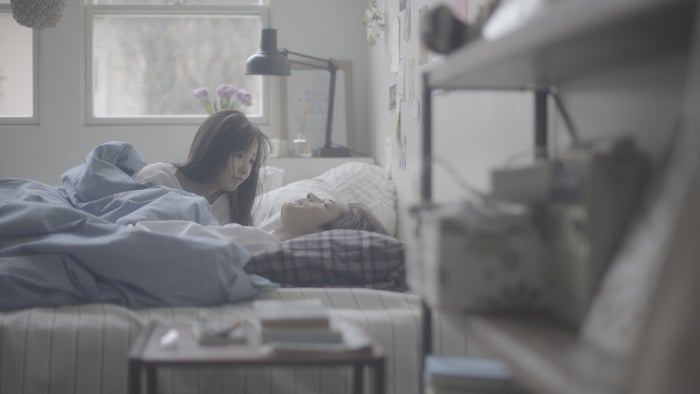 板野友美「すき。ということ」(2月13日発売)MVより(提供画像)