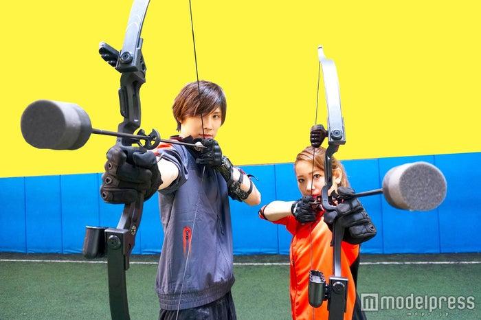 弓矢×サバゲー×ドッジボールが楽しすぎる!話題の「アーチェリーハント」が日本上陸/画像提供:ASOBIBA