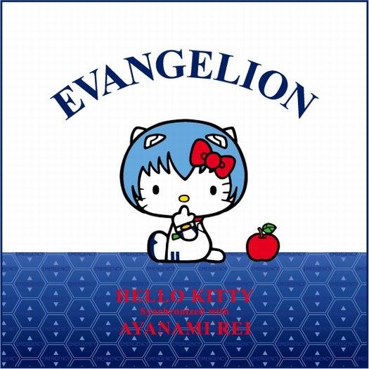 綾波レイ×ハローキティ/EVANGELION (C)khara (C) 1976, 2012 SANRIO CO.,LTD. TOKYO, JAPAN (L)