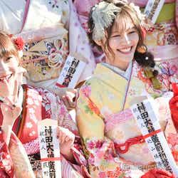 荻野由佳、込山榛香/AKB48グループ成人式記念撮影会 (C)モデルプレス
