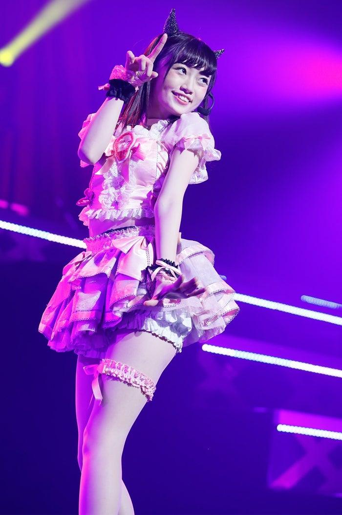 中井りか「NGT48 1周年記念コンサートin TDC ~Maxときめかせちゃっていいですか?」より(C)AKS