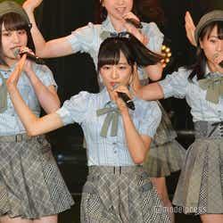 谷川聖、小栗有以、坂口渚沙/AKB48チーム8「TOKYO IDOL FESTIVAL 2018」 (C)モデルプレス