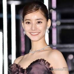 新木優子、美デコルテ輝く 総額1億5千万円のドレス&ジュエリーで登場