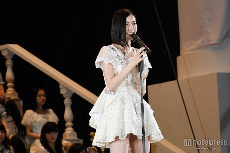 松井珠理奈、順位発表<第7回AKB48選抜総選挙>(C)AKS【モデルプレス】