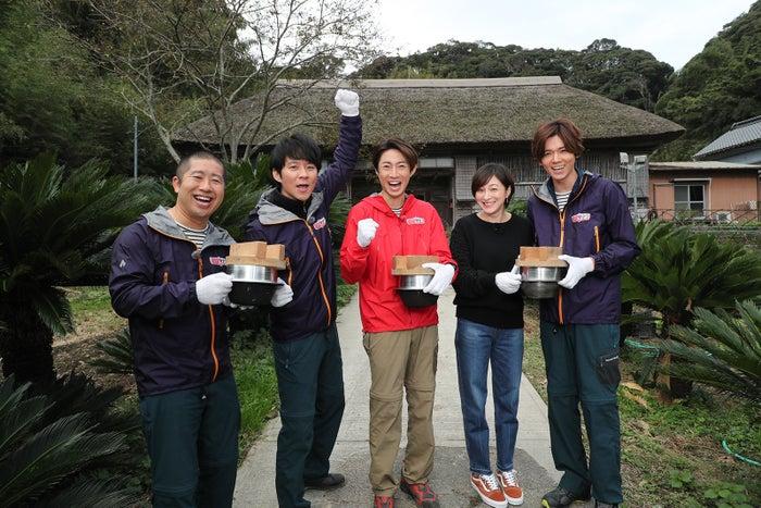 (左から)澤部佑、渡部建、相葉雅紀、広末涼子、小瀧望(C)テレビ朝日
