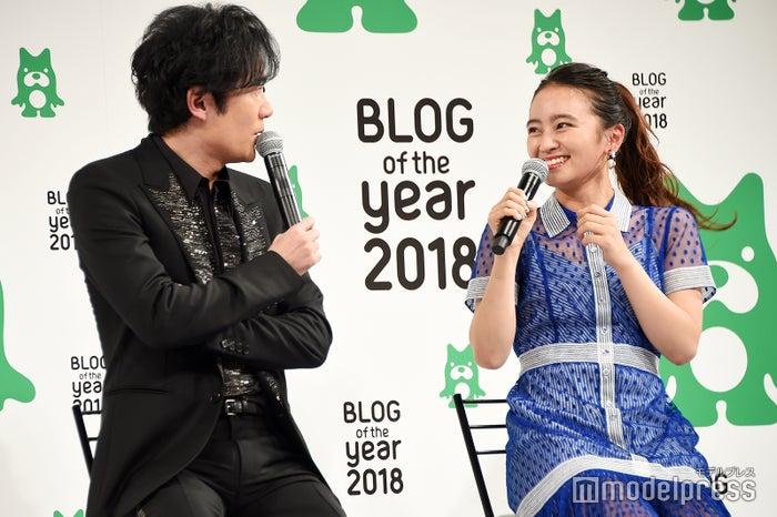 稲垣吾郎&岡田結実 (C)モデルプレス