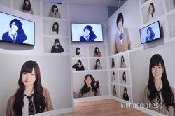 橋本奈々未さんの映像も!「乃木坂46 Artworks だいたいぜんぶ展」(C)モデルプレス