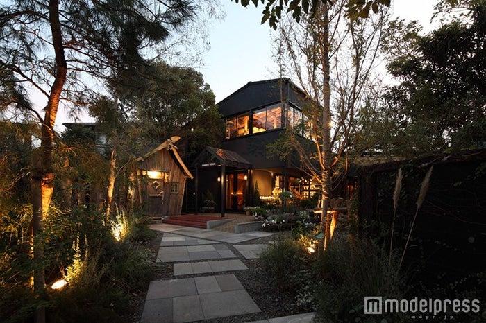 木々に囲まれ、まるで隠れ家のようにひっそり佇む「GARDEN HOUSE」/画像提供:THINK GREEN PRODUCE