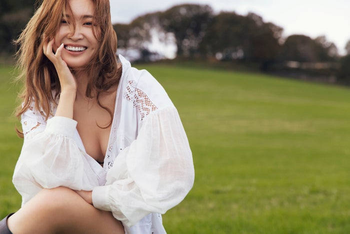 紗栄子「自分基準の美しさで」 バストケアへのこだわり明かす