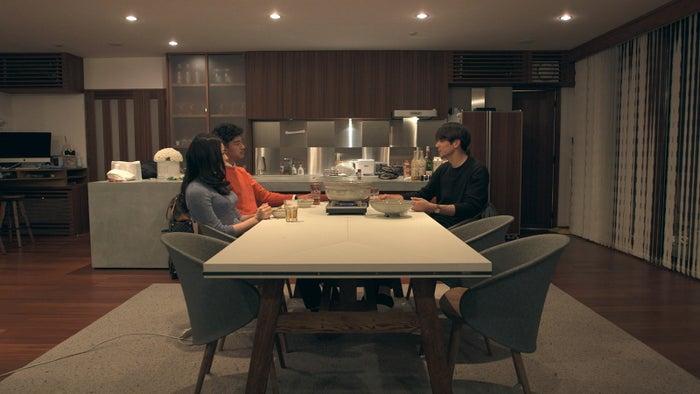 麻由、翔平、至恩「TERRACE HOUSE OPENING NEW DOORS」17th WEEK(C)フジテレビ/イースト・エンタテインメント