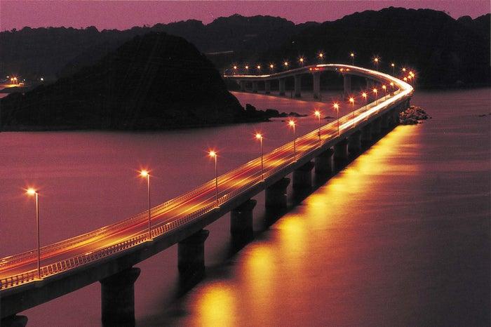 夕暮れのロマンティックな景観にうっとり/画像提供:山口県観光連盟