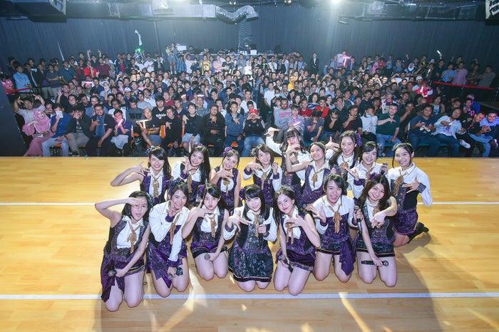 JKT48劇場で初パフォーマンス (C)JKT48 Project