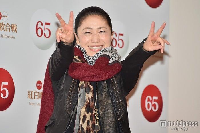 「第65回 NHK紅白歌合戦」のリハーサルに臨んだ石川さゆり【モデルプレス】