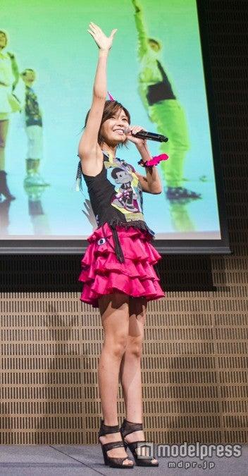 ファンクラブイベントを開催したAAA(トリプル・エー)の宇野実彩子