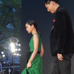 深川麻衣、山下健二郎/東京国際映画祭(C)モデルプレス