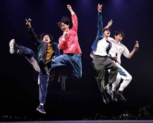 """菅田将暉ら""""グリーンボーイズ""""初ライブパフォーマンスは「大興奮でカオス状態」 1万6千人に「キセキ」届ける"""