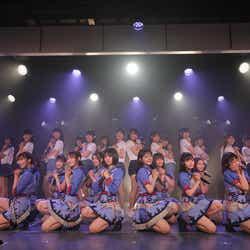 モデルプレス - NGT48、8ヶ月ぶり通常公演再開 センター清司麗菜「少しずつ前に進んでいけたら」