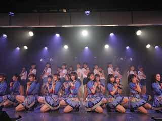 NGT48、8ヶ月ぶり通常公演再開 センター清司麗菜「少しずつ前に進んでいけたら」