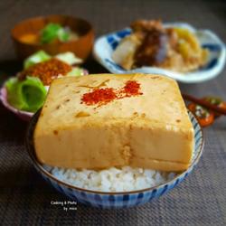 500人から絶賛の嵐♪大迫力でも味は繊細な「豆腐飯」