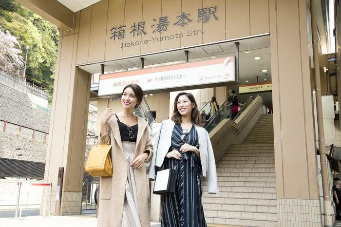 森暖奈さん(左)と山田千尋さん(右)の仲良しコンビ