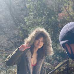 工藤美桜/「週刊プレイボーイ」プラチナムプロダクション20周年記念号オフショット(提供写真)