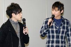 "AAA末吉秀太&日高光啓、ファン20人と至近距離で""ガチンコ対決""(C)モデルプレス"