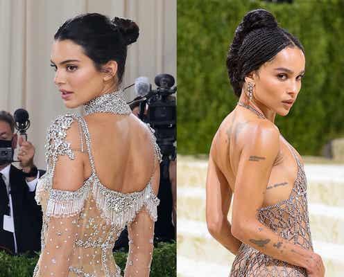 ケンダル派? ゾーイ派? 美ボディを引き立てるセクシーなドレス。【METガラ2021】