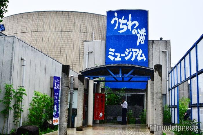 JR丸亀駅から徒歩で15分の「うちわの港ミュージアム」(C)モデルプレス