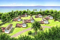 東京から2時間、初島に海を望むグランピング施設「アジアンリゾート ヴィラ」今夏オープン