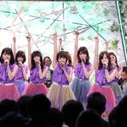 モデルプレス - 乃木坂46生駒里奈「歌い継いでいってほしい」 センター曲「君の名は希望」披露