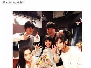 月9、西内まりや・山村隆太ら「いつものメンバー」撮影現場でバースデー祝福