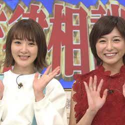 モデルプレス - 生駒里奈、市來玲奈アナにドッキリ 乃木坂46卒業後テレビ初共演