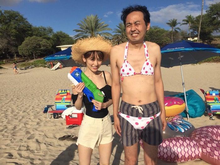 (左から)泉里香、田中卓志(提供画像)