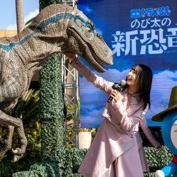 日向坂46小坂菜緒&加藤史帆、USJでドラえもんと感動の対面<映画ドラえもん のび太の新恐竜>