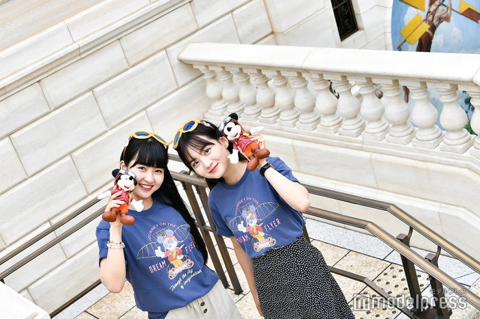 「ソアリン:ファンタスティック・フライト」外観/モデル:寺沢美玲、青山舞莉(C)モデルプレス(C)Disney