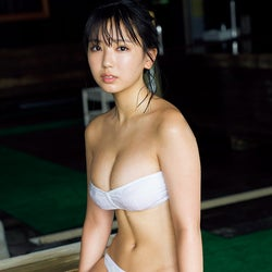 沢口愛華の迫力バストに釘付け 写真集アザーカット公開