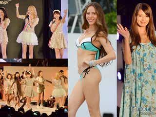 道端ジェシカ、吉川ひなの、E-girlsがビーチで豪華絢爛ファッションショー「ハワイアン・メイ!2014」<写真特集>