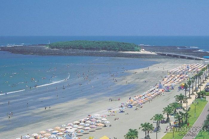 カリフォルニアのような風景広がる青島ビーチ