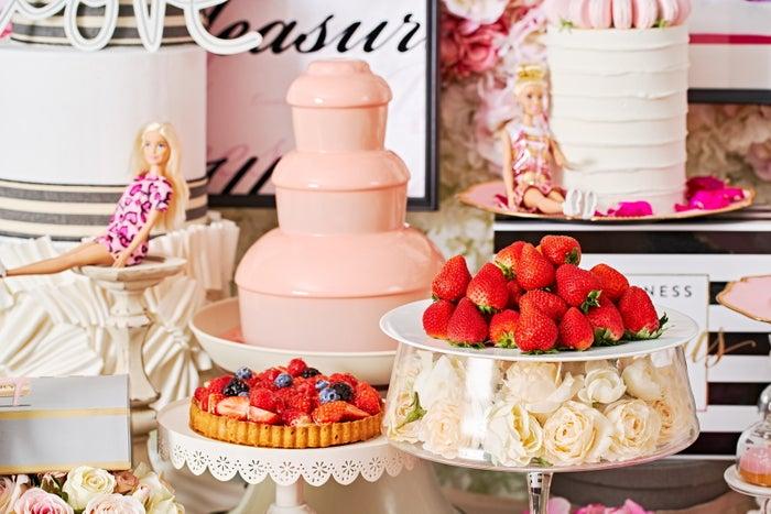 ストロベリーホリック~Barbie in Paris~/画像提供:ザ ストリングス 表参道