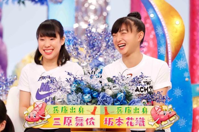 三原舞依、坂本花織(C)関西テレビ