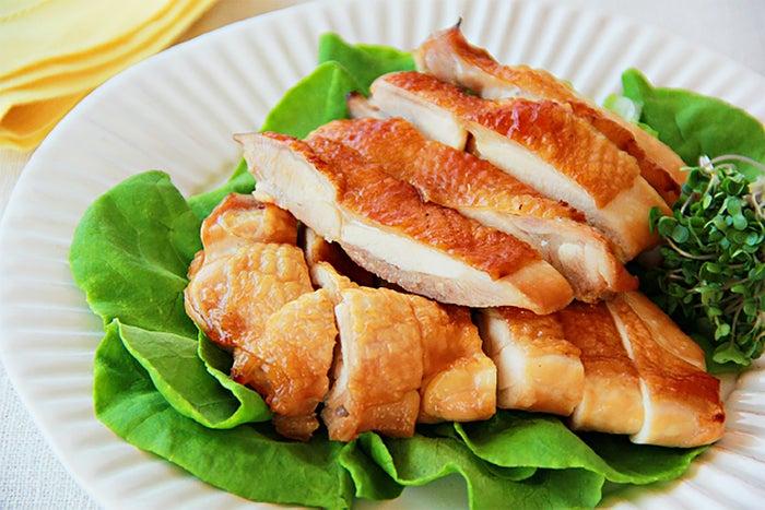 甘酒を使った鶏肉の甘辛焼き