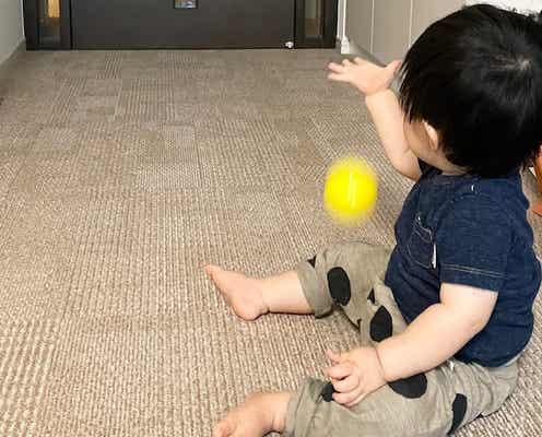 川田裕美アナ、爆笑してしまう息子の行動「投げ方がおもしろくて」