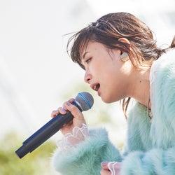 """大原櫻子、""""サクの日""""に5周年記念イベント開幕 ファンとハイタッチ"""