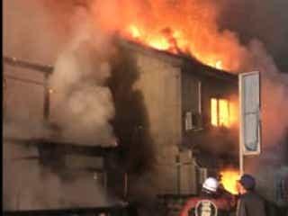 深夜に住宅全焼火事 91歳女性と連絡とれず