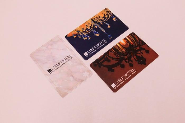 ラグジュアリーフロア限定ルームカードキー(C)LIBER HOTEL AT UNIVERSAL STUDIOS JAPAN