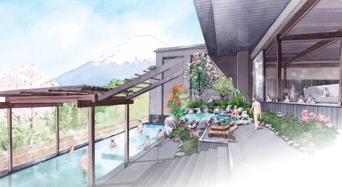 「木の花の湯」露天風呂/画像提供:小田急電鉄株式会社