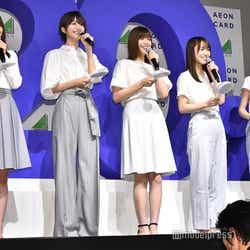 守屋茜、土生瑞穂、渡邉理佐、菅井友香、小林由依 (C)モデルプレス