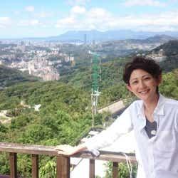 台湾ロケの休憩時間に1枚(提供写真)