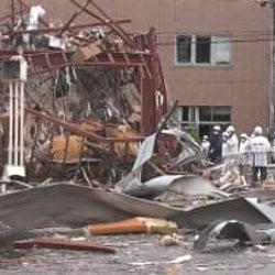 店内広範囲にガス充満か 工事業者「事故前日に異臭」