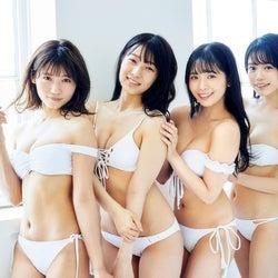 NMB48安田桃寧ら、美ボディ大胆披露 フレッシュな水着姿